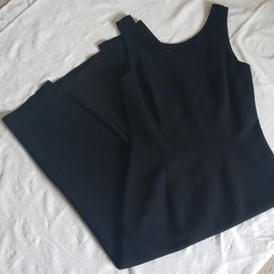 Carole Little Long Fitted Evening Dress